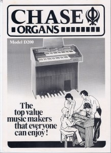 Organ advert